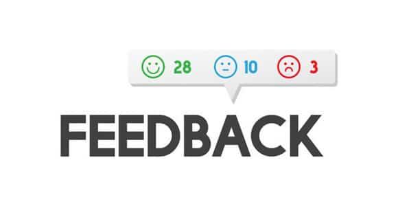 Importance du feedback pour votre activité